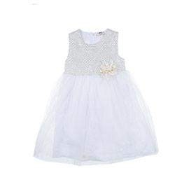 Kız Çocuk Elbise Beyaz (3-7 yaş)