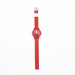 Kız Çocuk Saat Kırmızı (3-10 yaş)