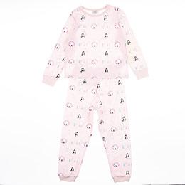 Kız Çocuk Pijama Takımı Pembe (3-12 Yaş)
