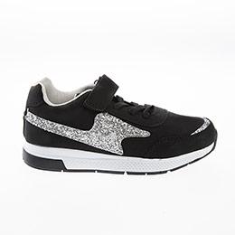 Kız Çocuk Spor Ayakkabı Siyah (26-35 numara)