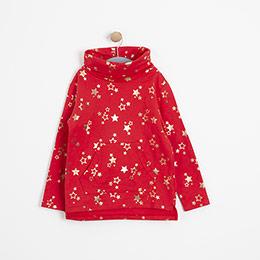 Kız Çocuk Sweatshirt Kırmızı (3-12 Yaş)