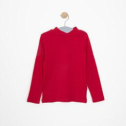 Kız Çocuk Uzun Kol Tişört Kırmızı (3-12 yaş)