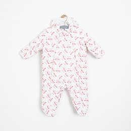 Kız Bebek Astronot Kırık Beyaz (3-24 ay)