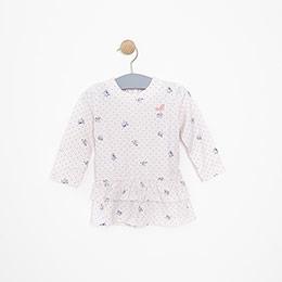 Kız Bebek Elbise Pembe (3-15 ay)