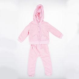 Kız Bebek Eşofman Takımı Pembe (12-24 ay)