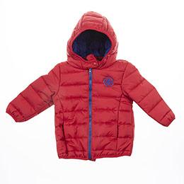 Kız Bebek Mont Kırmızı (3-24 ay)