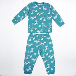 Kız Bebek Pijama Takımı Turkuaz (12-24 ay)