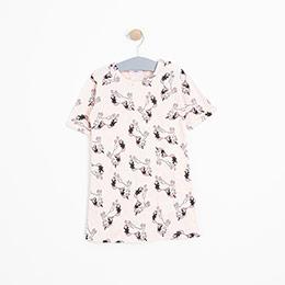 Kız Bebek Pijama Takımı Pembe (12-24 ay)
