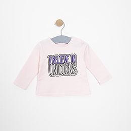 Kız Bebek Sweatshirt Pembe (3-15 ay)