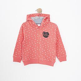 Kız Bebek Sweatshirt Pembe (9-24 ay)