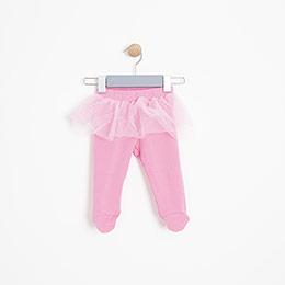 Kız Bebek Tayt Set Pembe (3-15 ay)