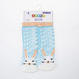 Yenidoğan Kız Altı Kaydırmaz Havlu Çorap Beyaz (14-22 numara)