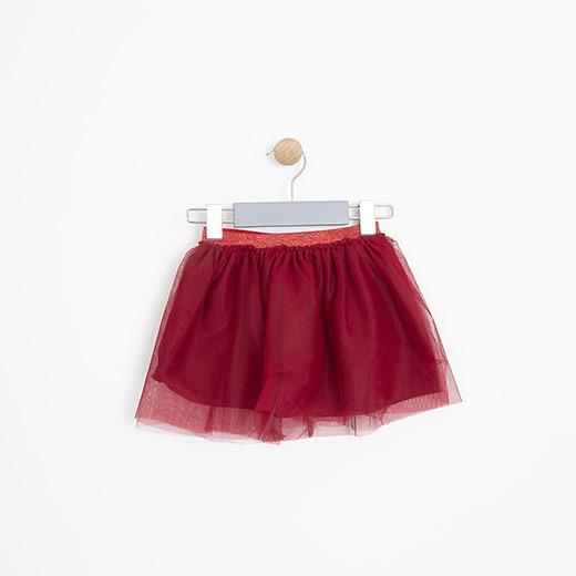 Kız Bebek Etek Kırmızı (12-24 ay)