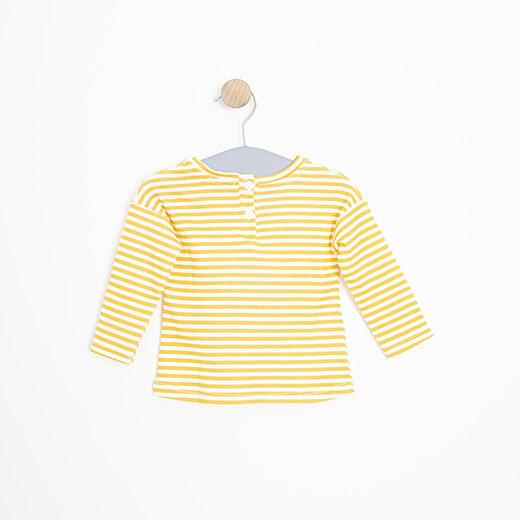 Kız Bebek Uzun Kol Tişört Sarı (3-15 ay)