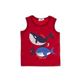 Erkek Bebek Atlet Kırmızı (12-24 ay)