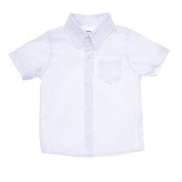 Erkek Bebek Kısa Kol Gömlek Beyaz (12-24 ay)