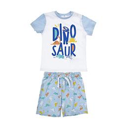 Erkek Bebek  Pijama Takımı Açık Mavi (12-24 ay)