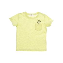 Erkek Bebek Tişört Neon Sarı (12-24 ay)