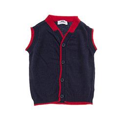 Erkek Bebek Yelek Lacivert (12-24 ay)