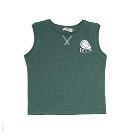 Erkek Çocuk Atlet Yeşil (3-7 Yaş)