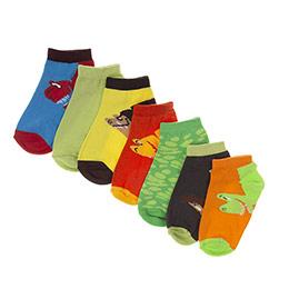 Erkek Çocuk 7li Patik Çorap Mix (23-34 numara)