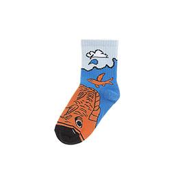 Erkek Çocuk Soket Çorap Turuncu (23-34 numara)