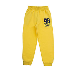 Erkek Çocuk Eşofman Altı Sarı (3-7 Yaş)