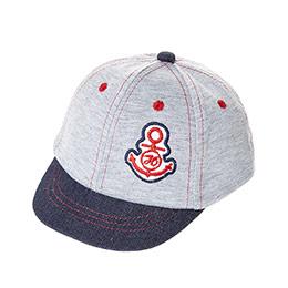 Erkek Çocuk Kep Şapka Gri Melanj (1-3 Yaş)