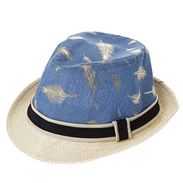 Erkek Çocuk Hasır Şapka Bej (3-7 Yaş)