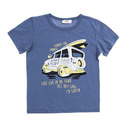 Erkek Çocuk Tişört İndigo (3-7 Yaş)