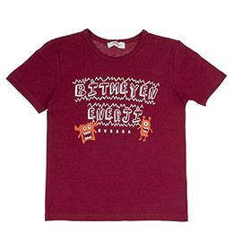 Erkek Çocuk Tişört Bordo (3-7 Yaş)