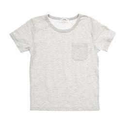 Erkek Çocuk Tişört Gri Melanj (3-7 Yaş)