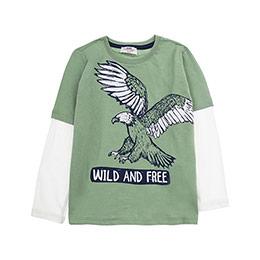Erkek Çocuk Tişört Yeşil (3-7 Yaş)