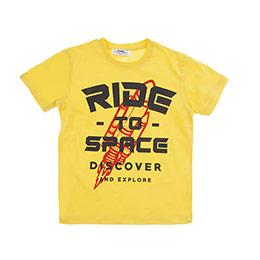 Erkek Çocuk Tişört Sarı (3-7 Yaş)