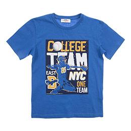 Erkek Çocuk Tişört Mavi (3-7 Yaş)