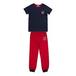 Genç Erkek Pijama Takımı Lacivert (8-12 Yaş)