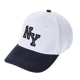 Genç Erkek Kep Şapka Beyaz (8-12 Yaş)