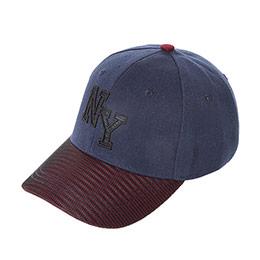 Genç Erkek Kep Şapka Lacivert (8-12 Yaş)