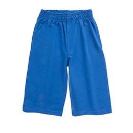 Genç Erkek Şort Mavi (8-12 Yaş)