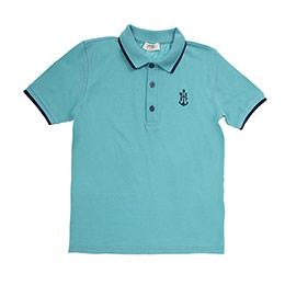 Genç Erkek Tişört Açık Yeşil (8-12 Yaş)