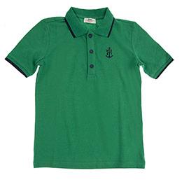 Genç Erkek Tişört Yeşil (8-12 Yaş)