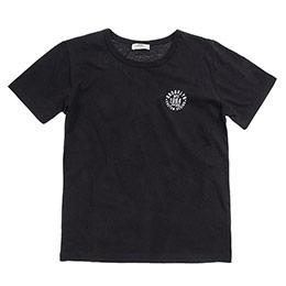 Genç Erkek Kısa Kol T Shirt Siyah 8Y