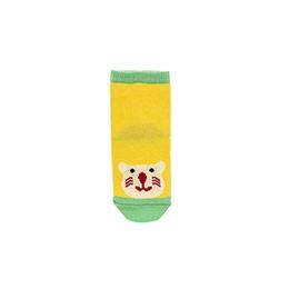 Erkek Bebek Soket Çorap Sarı (14-22 numara)