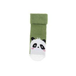 Erkek Bebek Soket Çorap Yeşil (14-22 numara)