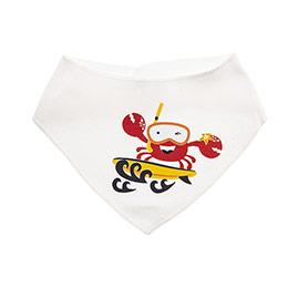 Erkek Bebek Flar Önlük Krem (0-2 Yaş)