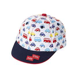 Erkek Bebek Kep Şapka Beyaz (0-24 ay)