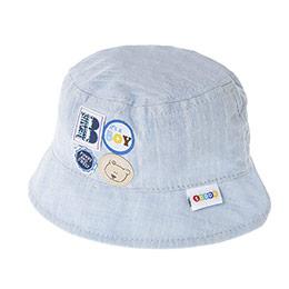 Erkek Bebek Fötr Şapka Açık Mavi (0-24 ay)