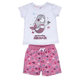 Kız Bebek Alt Üst Örme Set Beyaz (12-24 ay)