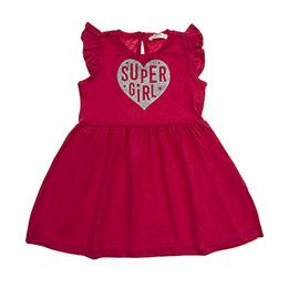 Kız Bebek Elbise Fuşya (12-24 ay)