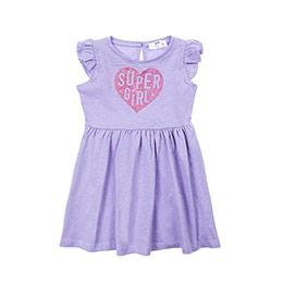Kız Bebek Elbise Lila (12-24 ay)